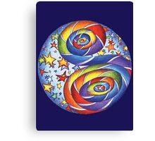 Stars N Stripes Mandala Canvas Print