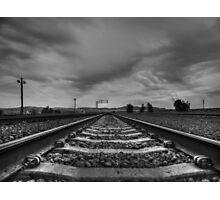 Mojave 009 BW Photographic Print
