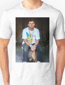 Mac DeMarco on a Stump T-Shirt