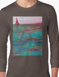 Sunset sea  Long Sleeve T-Shirt