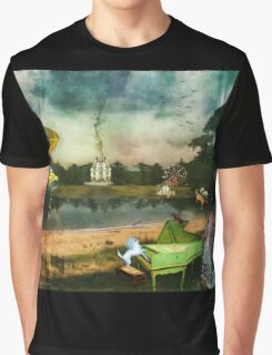 To Wish Impossible Things (art, poetry & music) Graphic T-Shirt