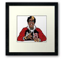 Mister Cap Framed Print