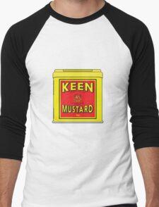 As Keen As Mustard Men's Baseball ¾ T-Shirt