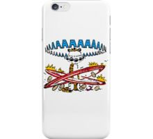 calvin and hobbes best friend iPhone Case/Skin