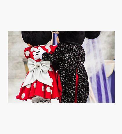 Mickey and Minnie Photographic Print