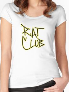 Rat Club Women's Fitted Scoop T-Shirt