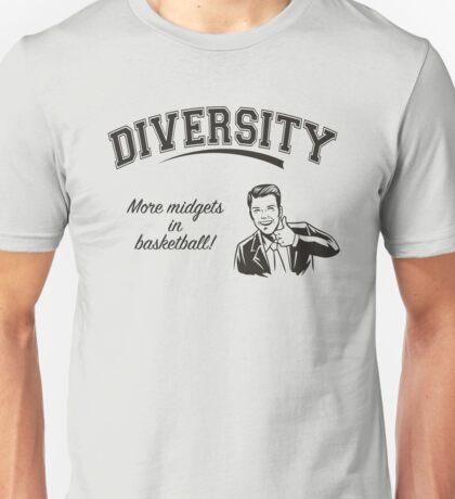 Diversity - Midgets in Basketball Unisex T-Shirt