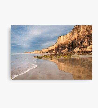 Demon's Bluff,Anglesea,Great Ocean Road.  Canvas Print