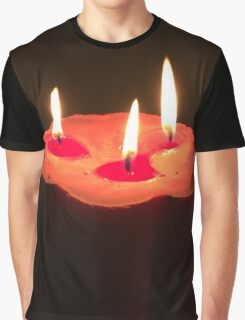 Light A Three Way Candle Graphic T-Shirt