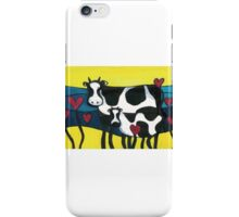 Hearty Cows  iPhone Case/Skin