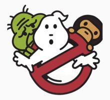 Bape Milo A Beating Ape X Ghostbuster Kids Tee