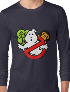 Bape Milo A Beating Ape X Ghostbuster Long Sleeve T-Shirt