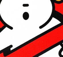 Bape Milo A Beating Ape X Ghostbuster Sticker