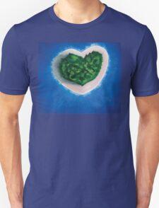 Heart Island  Unisex T-Shirt