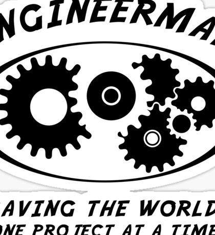 Engineerman Sticker