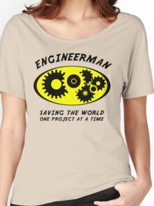 Engineerman Women's Relaxed Fit T-Shirt
