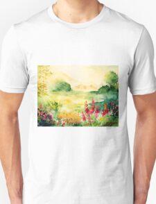 Watercolours on paper Unisex T-Shirt