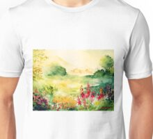 Watercolours on paper Unisex T-Shirt