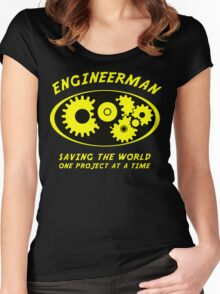 Engineerman Women's Fitted Scoop T-Shirt