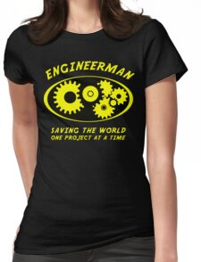 Engineerman Womens Fitted T-Shirt