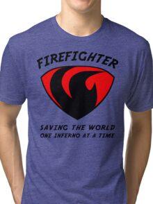 Firefighter Tri-blend T-Shirt