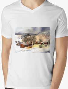 akwarelka 103 Mens V-Neck T-Shirt