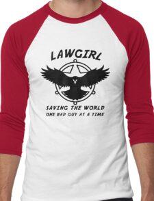 Lawgirl Men's Baseball ¾ T-Shirt
