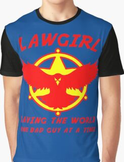 Lawgirl Graphic T-Shirt