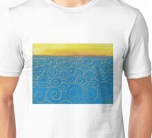 Swirly Sea  Unisex T-Shirt