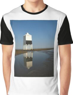'Lighthouse Reflections', Burnham on Sea, Somerset Graphic T-Shirt
