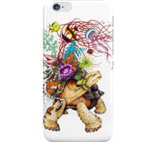 Turtle Back To Sea iPhone Case/Skin
