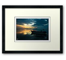 Waiting on the Day Framed Print