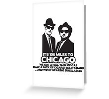 miles chicago Greeting Card