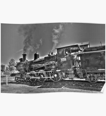 Engine 3016. Poster