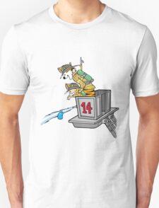 Boy and Kids Calvin and Hobbs Fireman Unisex T-Shirt