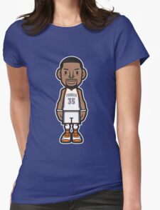 Durant OKC Home 1 Womens Fitted T-Shirt