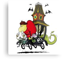 Gruesome Twosome Wacky Races Metal Print