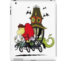Gruesome Twosome Wacky Races iPad Case/Skin
