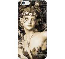 Spring Fairy in Fantasy Garden iPhone Case/Skin