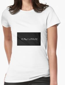 Kali Linux Faded No Dragon Womens Fitted T-Shirt