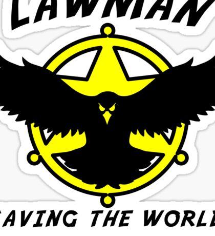 Lawman Sticker