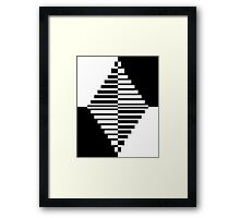 Geometric Diamond 1 Framed Print