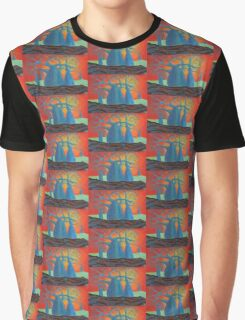 Sunset Baobabs Graphic T-Shirt