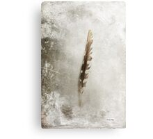 Standing Feather Metal Print
