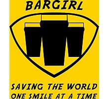 Bargirl Photographic Print