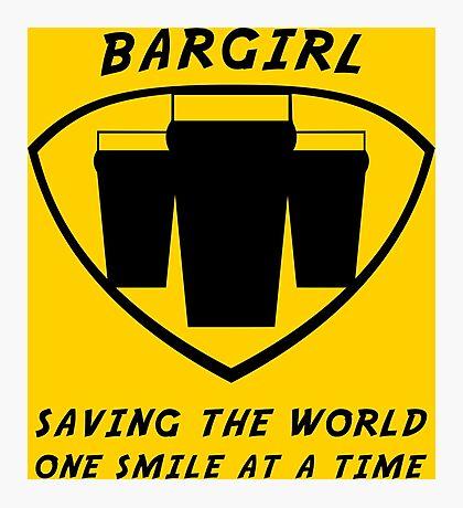 Bargirl Photographic Print