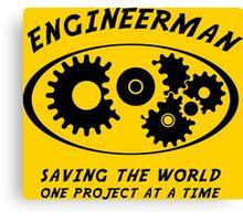 Engineerman Canvas Print