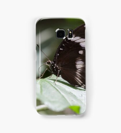 butterfly on the flower Samsung Galaxy Case/Skin