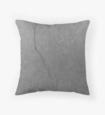 Cement / Concrete / Stone texture vintage design Throw Pillow