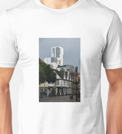 The New and The Old, Ipswich, Suffolk Unisex T-Shirt
